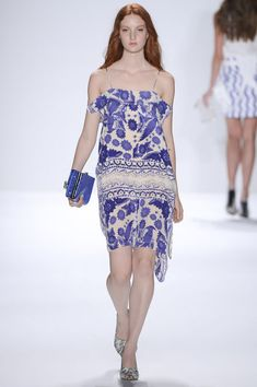 White and lilac at Rebecca Minkoff #NYFW 2013 #summer #fashion