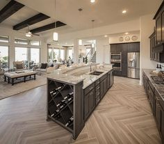Luxury Kitchen Design In 2020 Ideas , Dream and Modern Kitchen) Home Decor Kitchen, Home Kitchens, Kitchen Ideas, Diy Kitchen, Kitchen Inspiration, Kitchen Layout, Kitchen Designs, Open Concept Kitchen, Kitchen Hacks