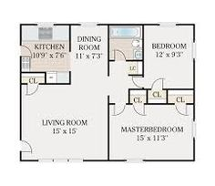 Image result for floorplans 600 sq ft