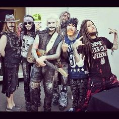 So much yes in this picture. Rob Zombie AND Korn? This was an amazing show!!! What made it even more amazing is they played in my hometown on my birthday! Best birthday ever!!! (It was cool meeting Head and Fieldy at the movie theater that I work at the night before, too!)