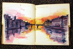 amazing italy sketchbook