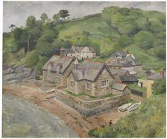 Richard Eurich, R.A. Durgan, Helford River, 1935 Sotheby's