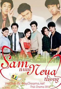 Thailand drama quot sam num neua thong quot 3 golden men with prin
