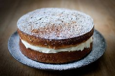 Parsnip and maple syrup cake.