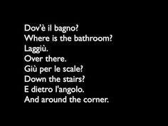 learn italian conversation - YouTube