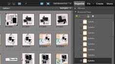 Organize your Digital Scrapbooking Templates in Photoshop Elements | digitalscrapbookinghq.com #digiscrap