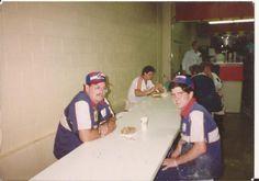Joe McHale and son. September 26, 1993.