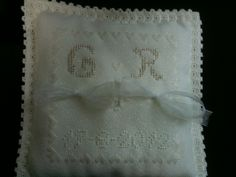 Amazing ring cushion for my wedding