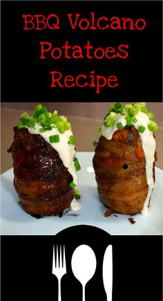 Check Out This Awesome Volcano #Potato BBQ #Recipe! #video #HowTo