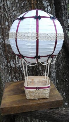 Hey, I found this really awesome Etsy listing at https://www.etsy.com/listing/480708955/up-up-and-away-hot-air-balloon-wedding