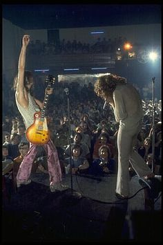 Jimmy Page and Robert Plant at the Boston Tea Party in 1969 The Band, Great Bands, Cool Bands, El Rock And Roll, Rock And Roll Bands, John Paul Jones, John Bonham, Jimmy Page, Jimmy Jimmy