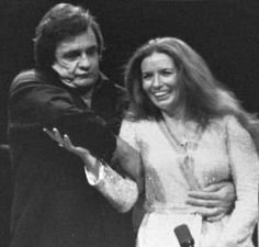 Johnny & June having fun on stage (early to mid 1980's)