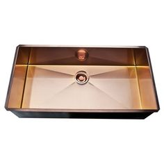 Rohl, RSS3618SC, , Rohl Single Bowl Stainless Steel Kitchen Sink Rss3618Sc