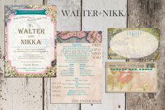 Grey Wedding Invitations, Gray Weddings, Entourage, Map, Facebook, Cards, Grey Weddings, Location Map, Maps