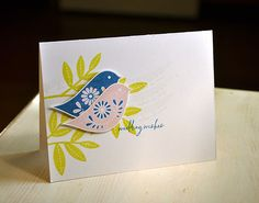 Wedding Wishes Card by Maile Belles for Papertrey Ink (October 2014)