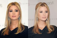 Ivanka Trump easy hairstyle by clip on blonde 18 inch celebrity extensions