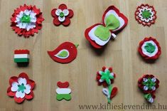 kokárda március 15 Diy And Crafts, Crafts For Kids, Arts And Crafts, Independence Day India, Handmade Rakhi, Republic Day, School Decorations, Art Education, Origami