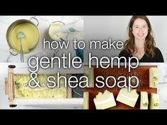 How to Make Minty Poppy Seed Scrubby Soap - YouTube