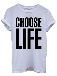Choose Life Wham Inspired T-Shirt by LeisurewearOnline on Etsy