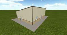 Cool 3D #marketing http://ift.tt/2mxEcem #barn #workshop #greenhouse #garage #roofing #DIY