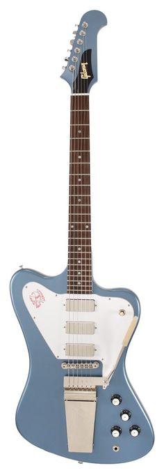 Gibson Custom Shop Electric Guitar Firebird VII Non Reverse Pelham Blue | Rainbow Guitars