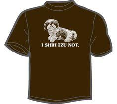 NoiseBot.com Funny T-Shirts - I Shih Tzu Not T-Shirt, Hoodie, or Tote Bag