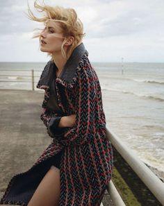 Delfine Bafort By Yelena Yemchuk For Uk Vogue