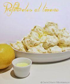 Profitteroles al limone di Sal De Riso