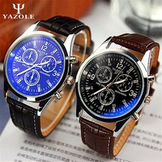 >> Click to Buy << YAZOLE Brand Business Watch Christmas Gifts Men Leather Quartz Watch Luxury Casual Wristwatch Relogio Masculino Clock C69 #Affiliate