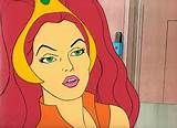 Princess from the Flash Gordon cartoon. Filmation did the animation for the show and reused the likeness of a lot of characters for the He-man cartoon from other series before them. Doesn't she look a lot like Teela.lol