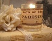 Trio of Vintage French Candle