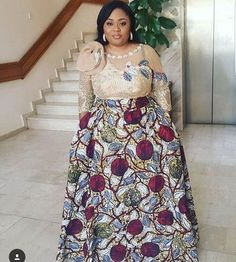 The complete collection of Exotic Ankara Gown Styles for beautiful ladies in Nigeria. These are the ideal ankara gowns Trendy Ankara Styles, Ankara Dress Styles, African Maxi Dresses, Latest African Fashion Dresses, African Dresses For Women, African Print Fashion, African Attire, African Wear, Ankara Fashion