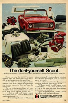 1969 International Scout Advertisement Photo Picture