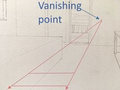 How to draw in perspective. What is linear perspective with one, two or three vanishing points and how to add figures when drawing. Atmospheric perspective and its influence on landscape painting. Types Of Perspective, Perspective Drawing Lessons, Point Perspective, Pencil Drawings For Beginners, Realistic Drawings, Art Drawings Sketches, Basic Drawing, Drawing Tips, Architecture Concept Drawings
