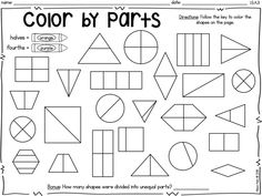 Understand Putting Shapes Together {Common Core Math