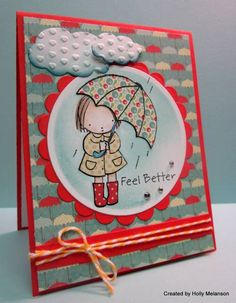 MAR13VSNM ~Rainy Days and Mondays~ by hollerinastamps - Cards and Paper Crafts at Splitcoaststampers