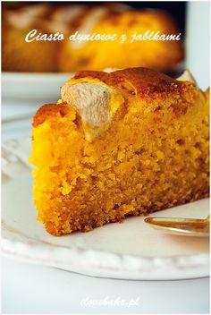 Ciasto dyniowe z jabłkami - I Love Bake Fun Baking Recipes, Cake Recipes, Cooking Recipes, Homemade Cakes, Pumpkin Recipes, Baked Goods, Banana Bread, Deserts, Good Food