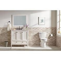 Home decorators collection teasian in 36 in w vanity in taupe gray home decorators collection teasian in 36 in w vanity in taupe gray with cultured marble vanity top in white with white basin and mirror pinterest teraionfo