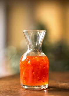 A quick and easy sweet and spicy chile sauce | mjskitchen.com