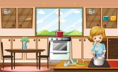 Olá a todas!  Hoje é dia de falar de cozinha!  Esse é um lugar da casa que requer muita higiene e carinho, pois é de lá que vem as refeições para toda a família.  É incrível como se todos os cômodos da casa estiverem organizados, porém a cozinha não, parece que a casa toda est