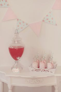 {Whimsical Feature}  Shabby Chic Tea Party Baby Shower