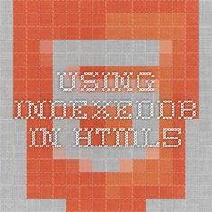 Using IndexedDB in HTML5
