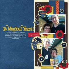 """14 Magical Years! """"Magical 2"""" by FranB Designs"""