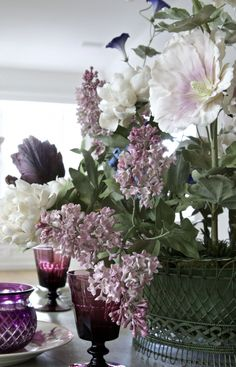 Handmade Porcelain Flower Bouquet by Vladimir Kanevsky