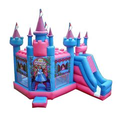 Cheap and high-quality Princess Castle Pink Bouncer for sale. On this product details page, you can find comprehensive and discount Princess Castle Pink Bouncer for sale.