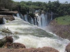 Kalandula Falls, Malanje Province, Angola
