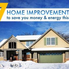 7 Winter home improvement tips to save you money and energy in the