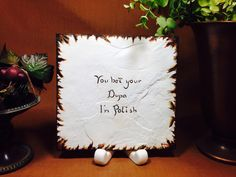 You bet your Dupa I'm Polish by Artsco on Etsy