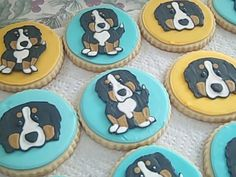 One Sweet Treat: Bernese Mountain Dog Cookies