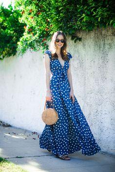Alyssa Campanella The A List Spring Polka Dots